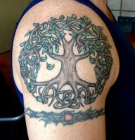 Tree Of Life Tattoo by Tattoo-Design