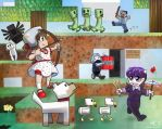 Minecraft With Friends by MPsai
