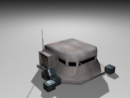 Pillbox or bunker by Micky-P
