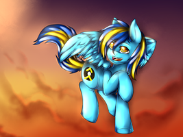 Mumble takes the skies by miss-mixi