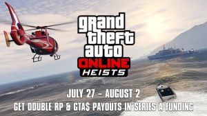 GTA Online Heist Get Double RP And Money by MMGDESIGNNKIG