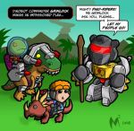 Lil Formers - Dino-Riders by MattMoylan