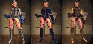 Cammy Doll Colors by BrutalAce