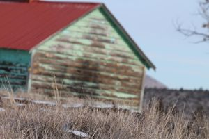 Old house Sad house Teal house by KickingBird97