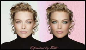 Michelle Pfeiffer retouch by StormyNight83