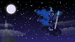 Princess Luna, the Grand Keeper of the Night by Proenix