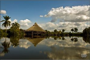 Taino Indian Village by SnapperRod
