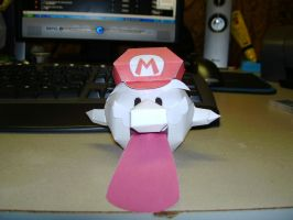 Papercraft Mario Boo by Esteban1988