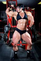 Rene Campbell Morphed Muscles by Turbo99