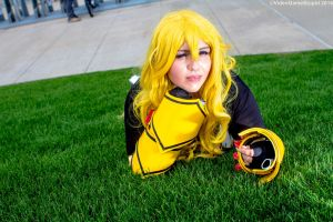 New York Comic Con 2015 - Yang(PS) 12 by VideoGameStupid