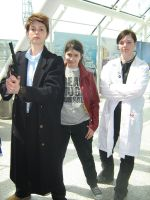 London Expo: Torchwood Trio by teamTARDIS