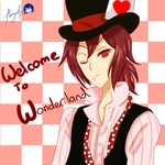 Rin as Mad Hatter by Amy-Oh