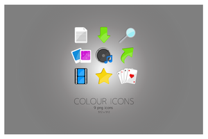 Colour Icons 02 by JM--Designs