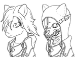 Corvo Attano Ponified Side by Side by CrosmirSketch