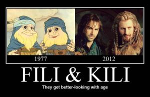 The Hobbit - Fili and Kili by KRRouse