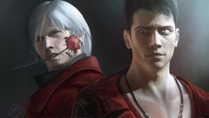 Dante And Dante wallpaper by LimonTea