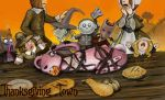 TNBC - Thanksgiving Town by Miki-
