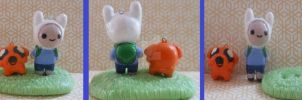 Finn and Jake Charms/Figure by Haruka-no-Ai