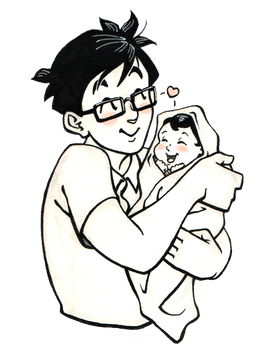 Gohan and Baby Pan by COOKEcakes