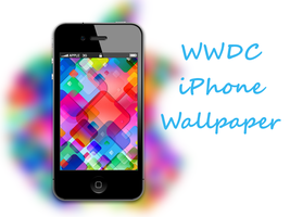 Apple WWDC iPhone Wallpaper by biggzyn80