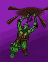 TMNT-Donatello by RedTigress