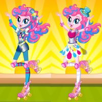 Pinkie Pie Roller Skates Style Dress Up by heglys