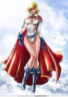 Power Girl by VirginieSiveton