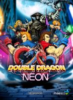 Double Dragon Neon by gamergaijin