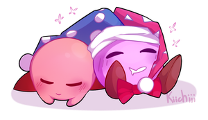 Kirby and Marxxxxx by Kiichiii