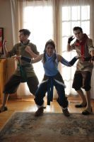 The Legend of Korra Cosplay - Team Photo 3 by Confidenceman047
