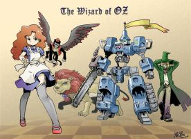 The Wizard of OZ by shepherd0821