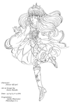 Flower Elf Line Art by Anisa-Mazaki