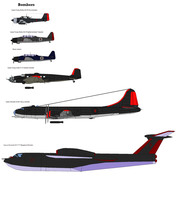 Imperial Flying Corp Bombers by soundwave3591