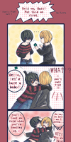 Death Note - Family Plan p.1 by Hyura