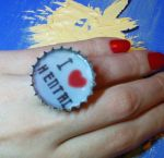 I love Hentai ring by strictlyhandmade
