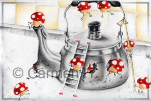 The Mushroom Revolutions by ItchyStitch