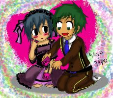 Let's Try This Now.. Coloured by Anime14Emo