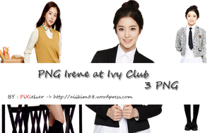 PNG pack Irene at Ivy Club by PIXIELVER by Aiikim88