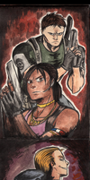 Project: Resident Evil by ToxicNeonSpaceMonkey