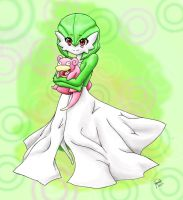 My gardevoir Drawing 14 by MisterPloxy