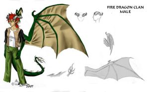Firedragon Clan - male by noot