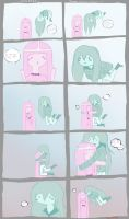 le small bubbleline comic by Magiichan
