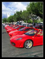 Red Ferraris by SurfGuy3