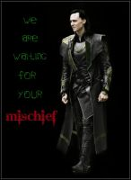 Loki in The Avengers by Fenevad