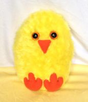 Cute Little Easter Baby Chicken Plushie by Blue-Shift-Recall