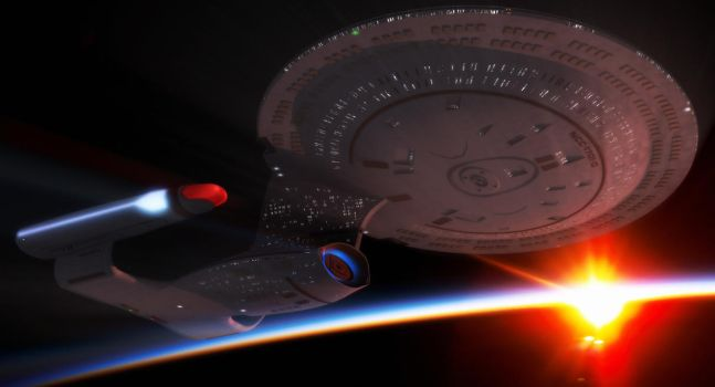 Picard's Enterprise by thefirstfleet