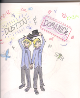 Dustin and DOmanick SOUL EATER OCs by CrypticCharmander