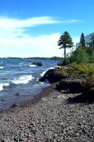 Shoreline on Superior by heavymidst