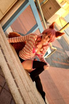 Fate/Exra - Caster Casual by leppa-berry