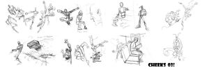 figure gesture studies n misc by cheeks-74